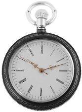 Markenlose Silber Taschenuhren mit arabischen Ziffern