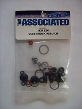 TEAM ASSOCIATED #31324 VCS3 FOUR SHOCK REBUILD KIT FOR TC6/TC6.2