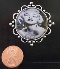 NEW! DOLLHOUSE MINIATURE~ART DECO MARILYN MONROE HAND DESIGNED WALL PLAQUE $30.