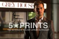 """FIFTY SHADES OF GREY JAMIE DORNAN POSTER PHOTO 12x8"""" SIGNED PP AUTOGRAPH PRINT B"""