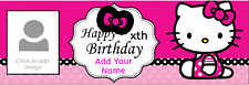Personalised Birthday Party Banners Customised Unicorn My Little Pony
