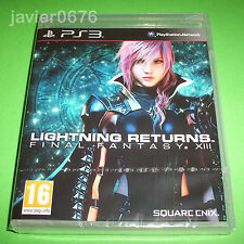 LIGHTNING RETURNS FINAL FANTASY XIII NUEVO PRECINTADO PAL ESPAÑA PLAYSTATION 3