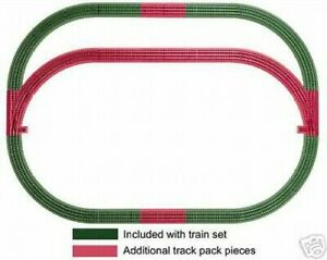 lionel 12031 Outer Passing Loop Add-on Track Pack NEW IN BOX fastrack