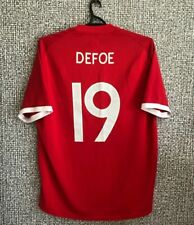 Jermain Defoe #19 England Soccer National Team Football Jersey Shirt Mens XL