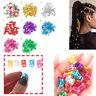 50pcs/pack Hair Braid Ring Beads Dreadlocks Cuff For Hair Extension Clips Decor