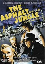 The Asphalt Jungle DVD Sterling Hayden Marilyn Monroe Louis Calhern NEW 1950 R0