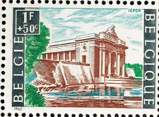 Belgium WW1 Battles of Ypres Memorial Famous Architecture 1962 Stamp MNH