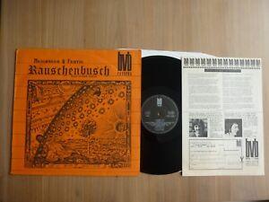 Meichsner & Fertig – Rauschenbusch, Germany 1974, insert, KRAUT, LP, Vinyl: m-