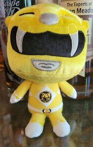 """Mighty Morphin Power Rangers Yellow Ranger Hero 9"""" Soft Plush Funko"""
