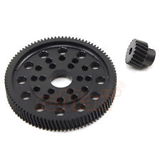 Xtra Speed Delrin Spur Gear Steel Pinion Axial SCX10 Wraith RC Cars #XS-SCX22137