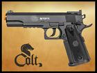 Colt 1911 TAC Non blowback CO2 Airsoft gun, pistol FPS 395 Weight 1.6 lbs.
