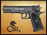 Colt 1911 TAC Non blowback CO2 Airsoft gun, pistol FPS 395 Weight 1.6 lbs.