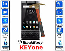 Genuine 100% TEMPERED GLASS HD Screen Protector Cover For Blackberry KEYone