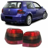 VW GOLF MK4 MK 4 1997-2003 SMOKED R32 LOOK REAR TAIL BACK LIGHTS