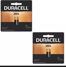 2x Duracell 28A 6V Battery Replacement for Px28A, 476Af, V4034Px 4Lr44, A544