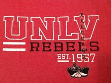 UNLV Rebels Est.1957 Short Sleeve TShirt XL NWT