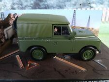 1/43 LAND ROVER SERIES III James Bond The Living Daylights 007 series  diorama