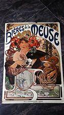 Bieres De La Meuse Printed in The Netherlands Poster