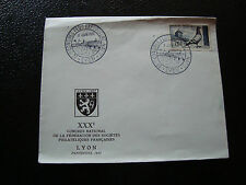 FRANCE - enveloppe 8/6/1957 (cy20) french (A)