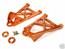 RDLogics Aluminum Front Lower Arm (2) for HPI Baja 5B/5T Orange