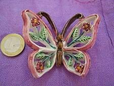 Farfalla murale in ceramica bomboniera idea regalo ds12