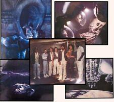 Vintage ALIEN 1979 Movie 16X20 Lobby Card Set Poster Sigourney Weaver Horror