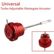 Aluminum Alloy Red Turbo Adjustable Wastegate Actuator & Rod Universal