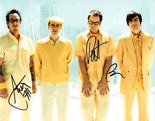 GFA American Rock Band * WEEZER * Signed 8x10 Photo W1 COA