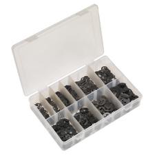AB013ER Sealey E-Clip Retainer Assortment 800pc Imperial [E-Clips]
