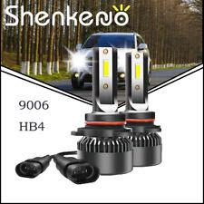 Set of 9006 HB4 LED Headlight For GMC Sierra 1500 2500 HD 1995-06 Lower Beam Kit