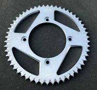 Alu Kettenrad 54 Z, Betamotor 125 RR AC, Enduro, RE, 11-16, silber, #428, Beta