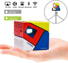 Smart Cube P1 Mini 8GB +1GB DLP Home Games Projector Bluetooth WiFi For Android