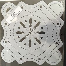 The Crafters Workshop Stencil - Poppy -TWC141S - NEW
