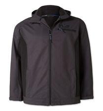 Outdoor-Jacke Funktionsjacke Softshelljacke Gr.3XL XXXL braun/schwarz zu Jeans