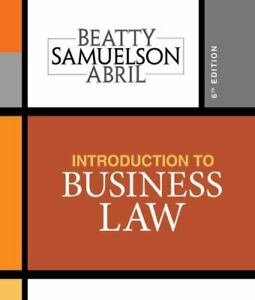 Introduction to Business Law by Susan S. Samuelson,...