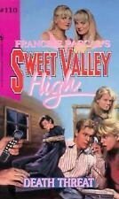 Death Threat (Sweet Valley High)-ExLibrary