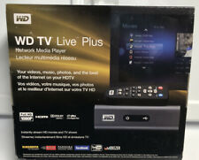 NEW-Western Digital WD TV Live Plus HD Network Media player WDBABX0000NBX-NESN