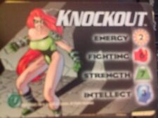 DC Overpower Knockout Hero Card NrMint-Mint Card