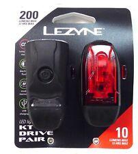 Lezyne KTV Drive Headlight and Tailight Set