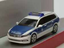 """Herpa VW Passat Variant B8 Bundespolizei - Dachkennung """"15 910"""" - 1:87"""