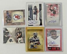 Lot of 6 NFL Cards Mike VIck, Leonard Pope, Greg Robinson, Emmitt Smith, More