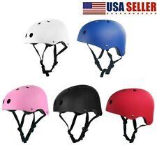 Safety Kids Helmet Bike Bicycle Skateboard Scooter Child Boys Girls And Stunt US