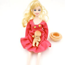 Real Pregnant Doll Mommy Baby Dolls Have A baby In Her Tummy Fashion Mom To Be