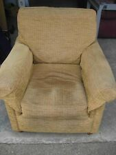 Armchair, Comfy Chair - Derwent by John Lewis - Pale Brown Fabric - 83cm Wide
