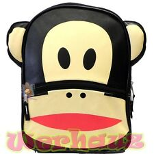 "Paul Frank 16"" Backpack Paul Frank Face Book Bag, New"