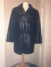 NEW•Danier LEATHER Coat~ Jacket>zip out thermal insulated liner•Womens SMALL