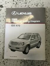 2008 Lexus GX470 GX 470 Electrical Wiring Diagram Manual EWD EVTM
