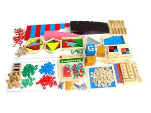 20 Montessori Activities Family Home School Mini Set