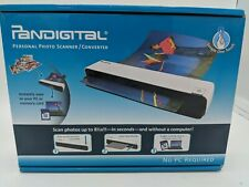 Pandigital Photolink One Touch PANSCN06 8.5 Inch x11 Inch Photo Scanner NEW