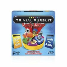 Hasbro Trivial Pursuit Family Edition Board Game. Friends Party Trivia Present